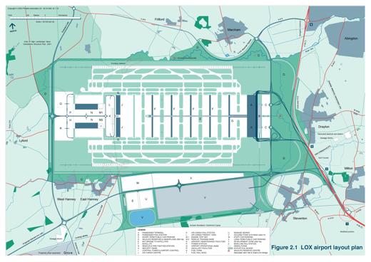 2003 Master Plan Revised Master Plan Layout